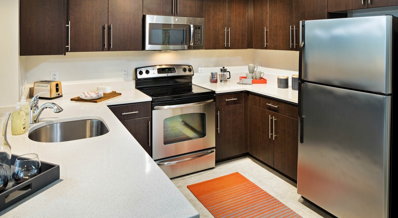 Modern Spacious Kitchens